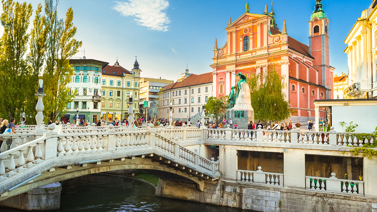 The River Ljubljanica And Its Bridges Visit Ljubljana