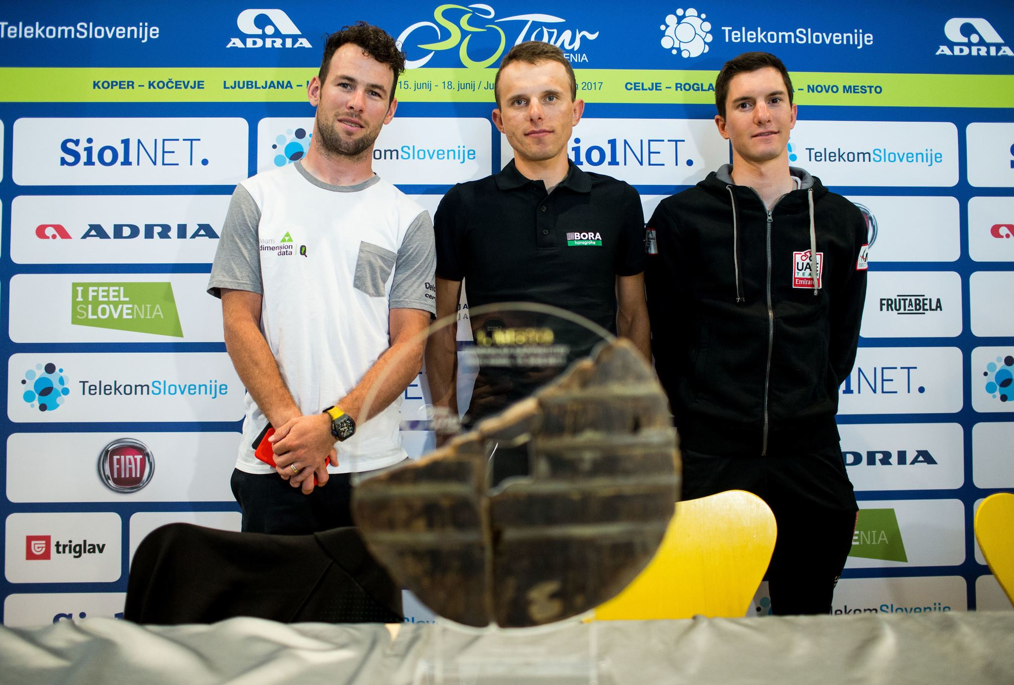 Mark Cavendish, Rafał Majka, Jan Polanc
