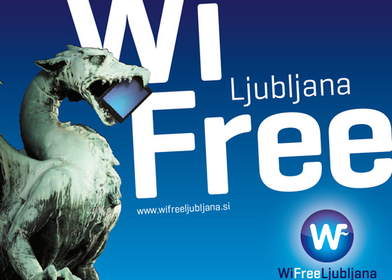 Ljubljana is a Wi-Fi-friendly city