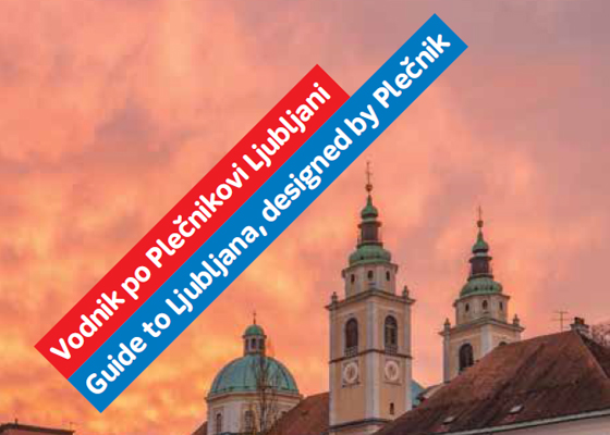 Guide to Ljubljana, designed by Plečnik