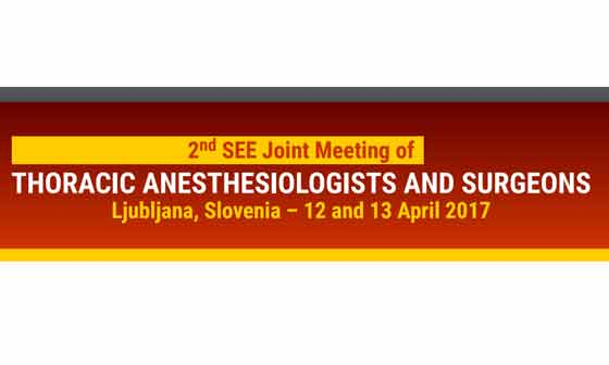 2nd Joint Meeting of Thoracic Anasthesiologists and Surgeons