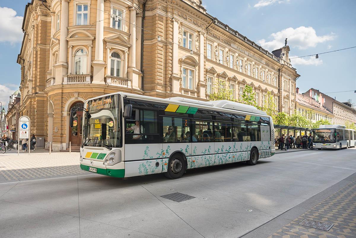 City Buses Visit Ljubljana