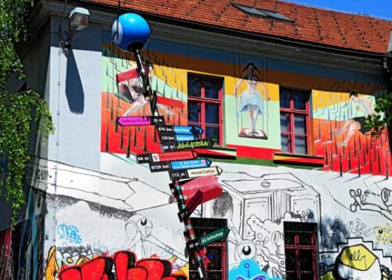 Metelkova mesto alternative culture centre