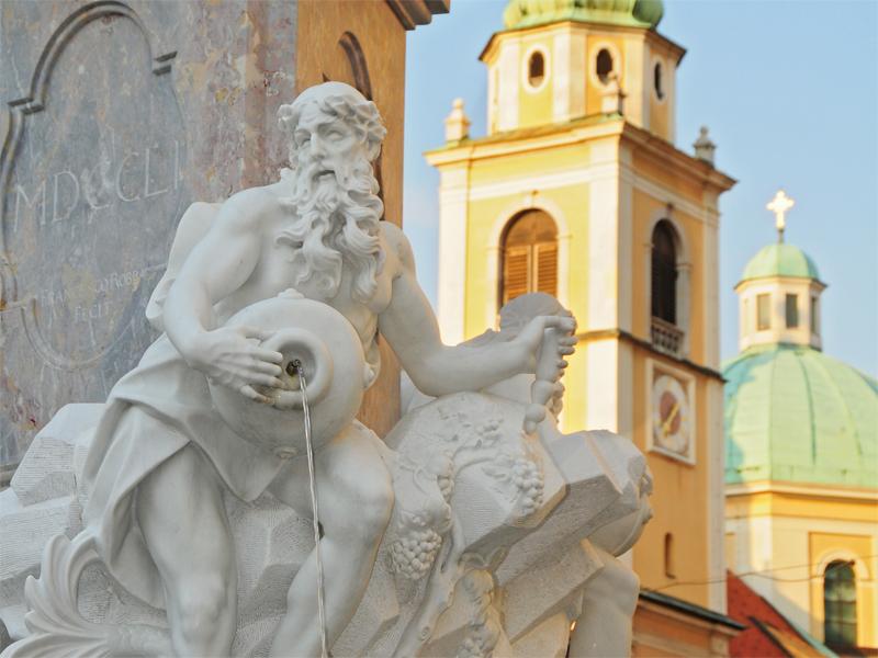 Baroque style ljubljana visit ljubljana