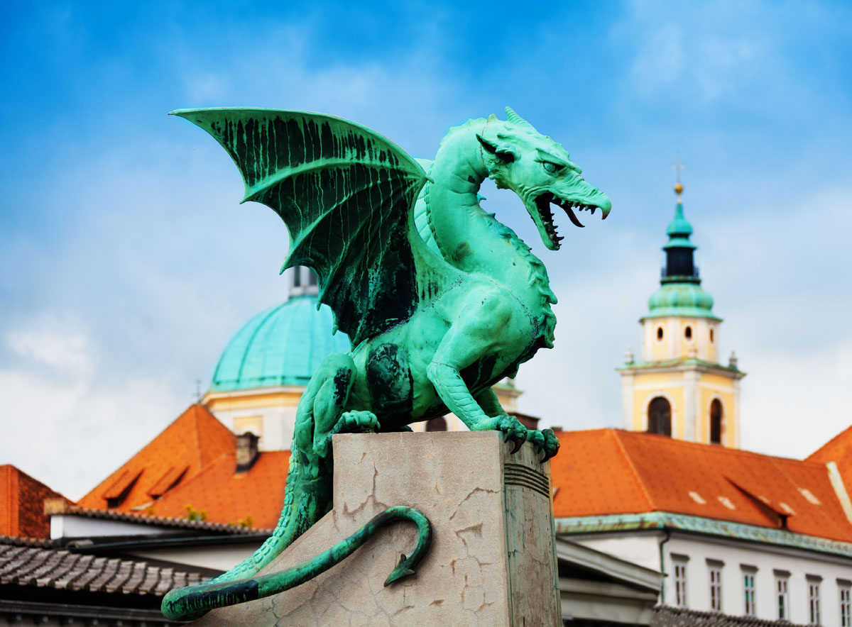 Top Sights Of Ljubljana Dragon Bridge