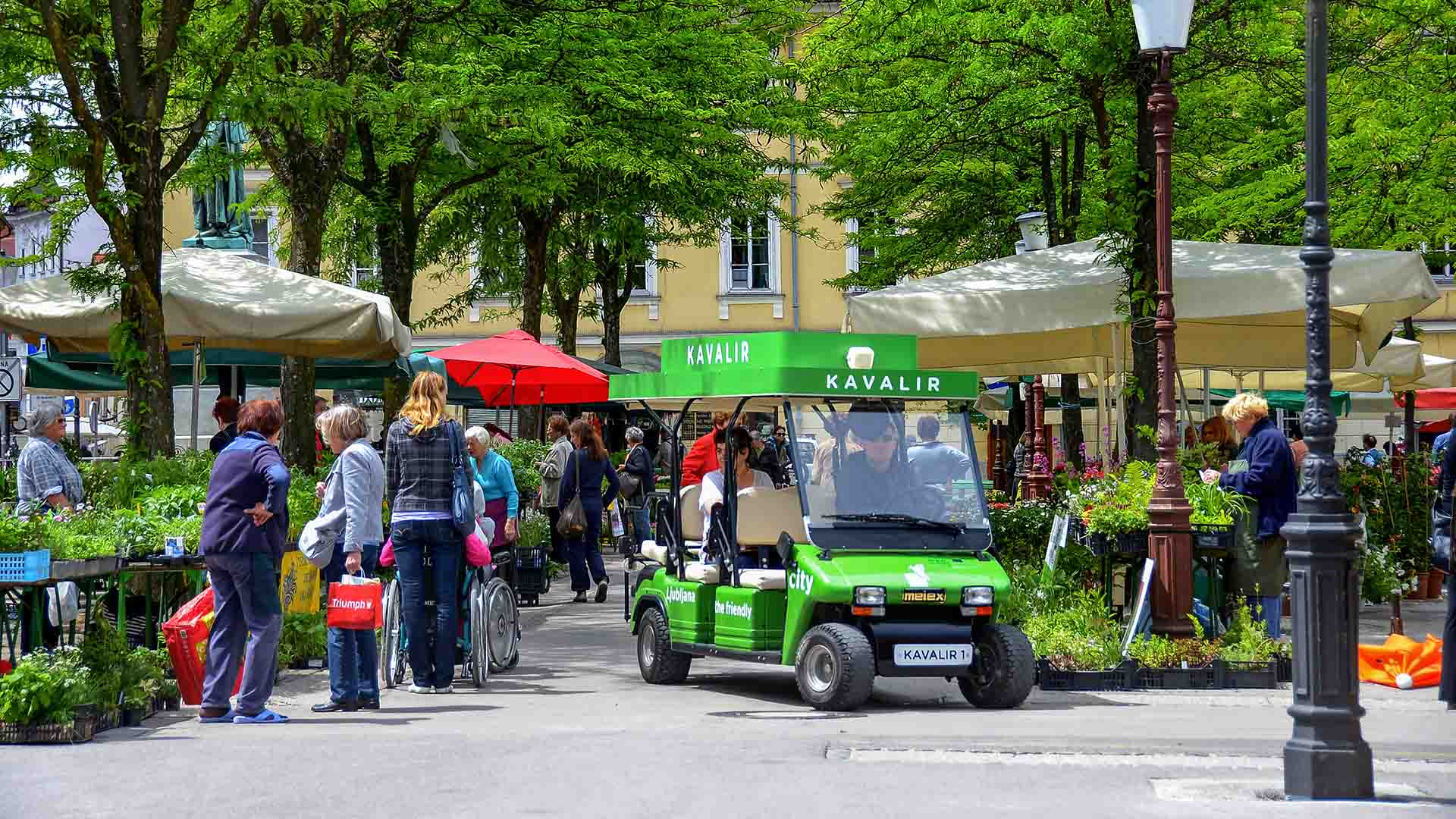 Kavalir: getting around the city centre by electric car » Visit ...