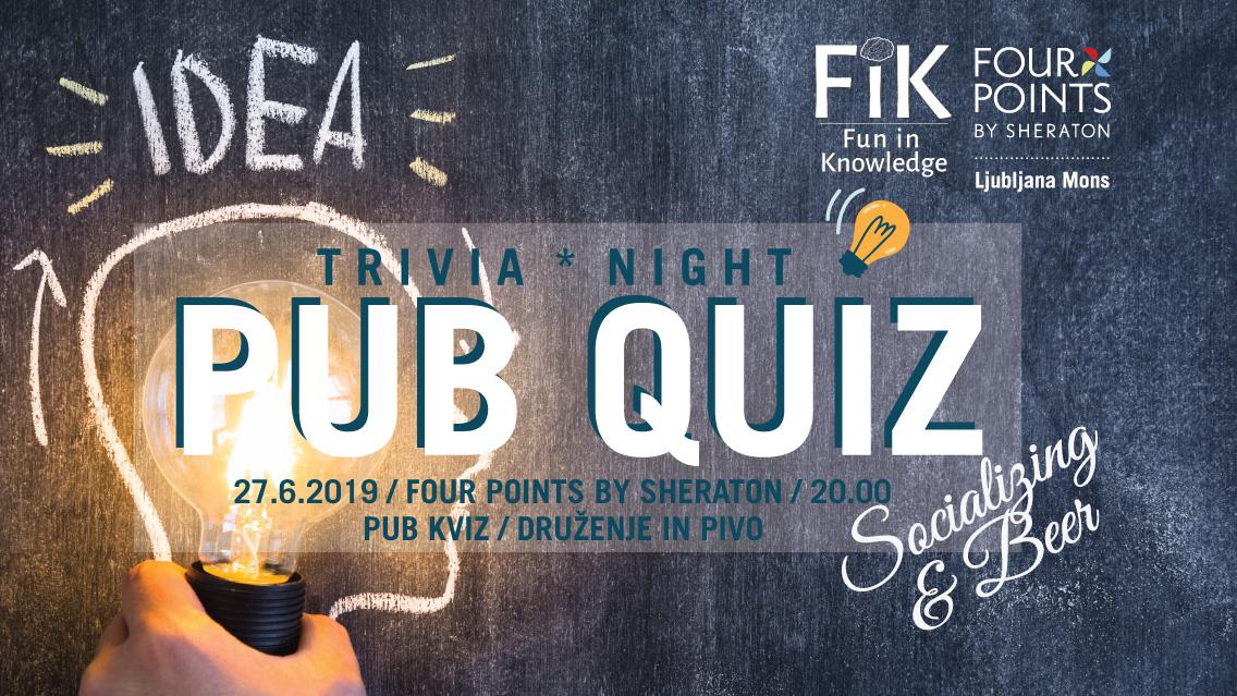 Pub Quiz » Visit Ljubljana
