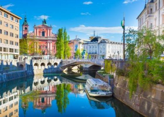 The Sights of Ljubljana and a Boat Cruise