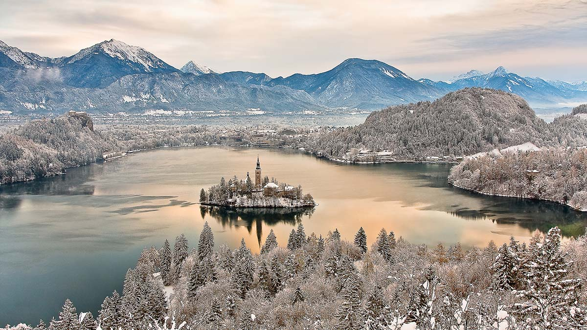 Winter in Bled